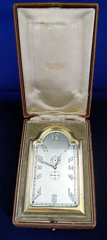 Click here to see more detail of an Art Deco travel clock