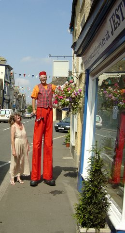 Lorna and the Stilt Man