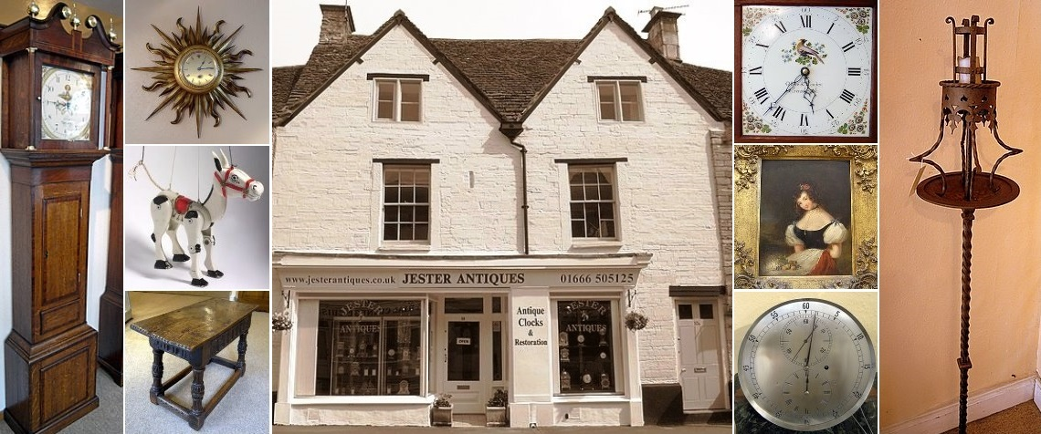 Jester Antiques' shop - please use the menu at the bottom to explore our site
