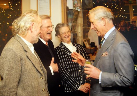 Peter and Lorna with Prince Charles 2012 #2