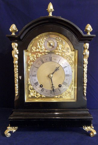 Click here to see more detail of a Victorian bracket clock